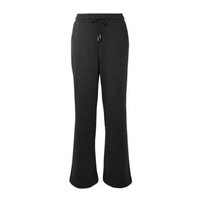 NINETY PERCENT スウェットパンツ  レディースファッション  ジャージ、スウェット  ジャージ、スウェットパンツ ブラック