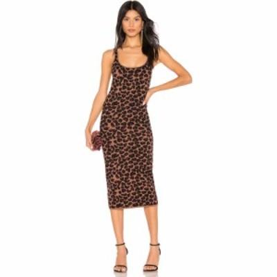 エルピーエー LPA レディース ワンピース ワンピース・ドレス Emelie Dress Leopard