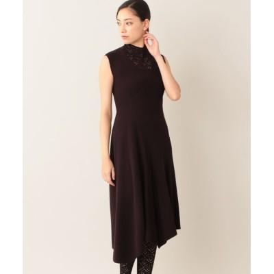 EPOCA/エポカ *Marisol10月号掲載* 【La maglia】アシンメトリーニットドレス ワイン2 38