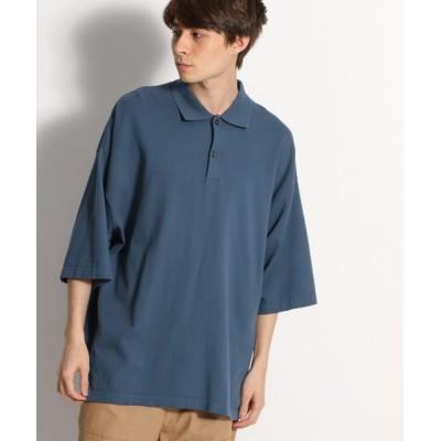niko and... / ハイツイストコットンポロシャツ MEN トップス > ポロシャツ