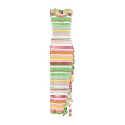 BOUTIQUE MOSCHINO チューブドレス  レディースファッション  ドレス、ブライダル  パーティドレス ホワイト