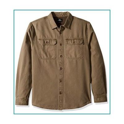 O'NEILL メンズ カジュアル 長袖 織 ボタンダウンシャツ US サイズ: XX-Large カラー: グリーン【並行輸入品】