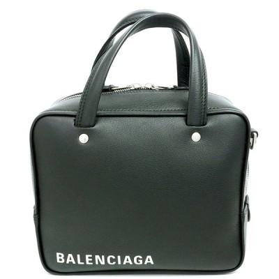バレンシアガ 2WAY ショルダーバッグ ロゴ シルバー金具 トライアングルスクエア 528544  ハンドバッグ