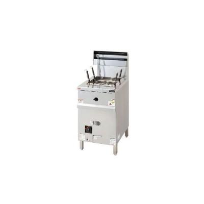 ガス角槽型ゆで麺機 MRLN-04C  LPG(プロパンガス)メーカー直送/代引不可