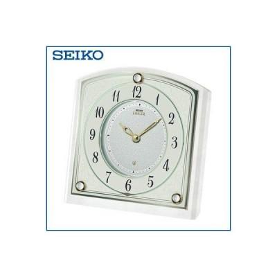 セイコー クロック 置時計 クオーツ SEIKO EMBLEM HW588W