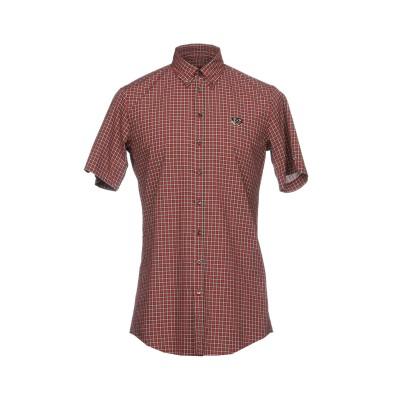 ディースクエアード DSQUARED2 シャツ レッド 48 コットン 100% シャツ