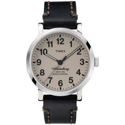 腕時計 タイメックス メンズ Timex TW2P58800ZA 40mm Stainless Steel Waterbury Men's Watch