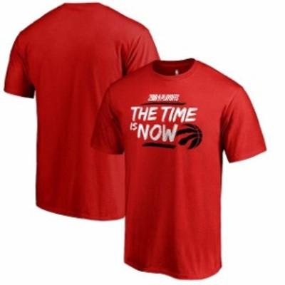 Fanatics Branded ファナティクス ブランド スポーツ用品  Fanatics Branded Toronto Raptors Red 2018 NBA Playoffs Bet Slogan T-Shirt
