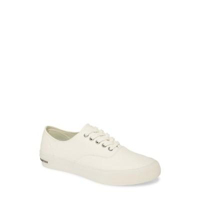 シービーズ メンズ スニーカー シューズ Legend Leather Sneaker WHITE