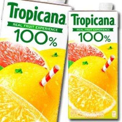 【送料無料】キリン トロピカーナ100% グレープフルーツ1L LLスリムパック×1ケース(全6本)