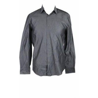 Alfani  ファッション アウター Alfani Verve Solid Long Sleeve Shirt S