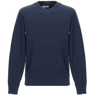 マウロ グリフォーニ MAURO GRIFONI スウェットシャツ ダークブルー S コットン 100% スウェットシャツ