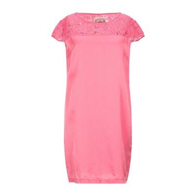 ピンク メモリーズ PINK MEMORIES ミニワンピース&ドレス ピンク 40 レーヨン 60% / シルク 40% ミニワンピース&ドレス