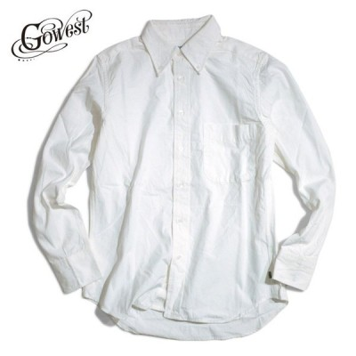 GOWEST ゴーウエスト SLIM FIT BD SHIRTS /  SALLOR CLOTH SELVEDGE