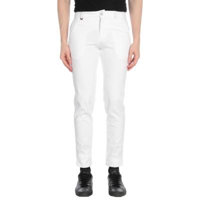 LIU •JO MAN パンツ ホワイト 42 コットン 97% / ポリウレタン 3% パンツ