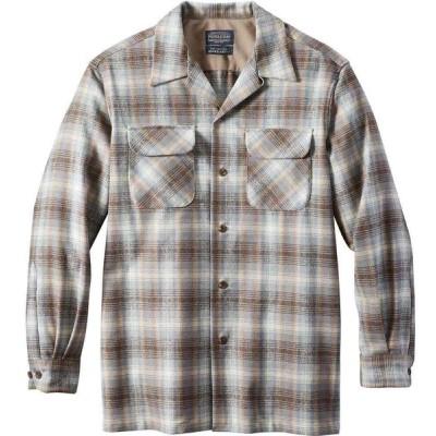 ペンドルトン Pendleton メンズ シャツ トップス Board Shirt Beige/blue/tan Ombre