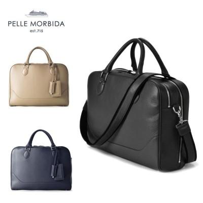 PELLE MORBIDA ペッレモルビダ ブリーフバッグ 2室タイプ 鞄 バッグ MB050