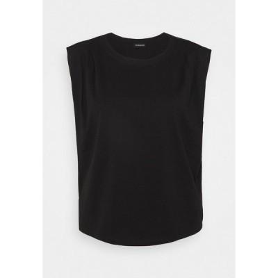 イーブン アンド オド Tシャツ レディース トップス Basic T-shirt - back