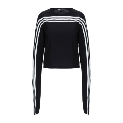 ワイスリー Y-3 T シャツ ブラック S ナイロン 72% / ポリウレタン 28% T シャツ