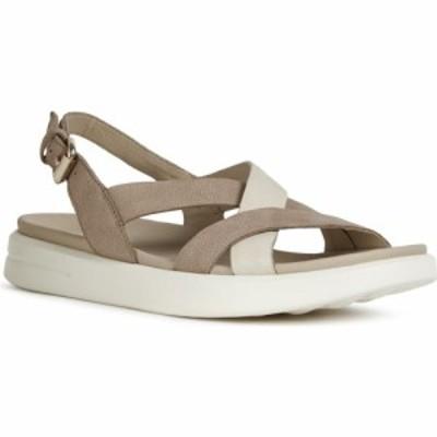 ジェオックス GEOX レディース サンダル・ミュール シューズ・靴 Xand Slingback Sandal Desert/Beige
