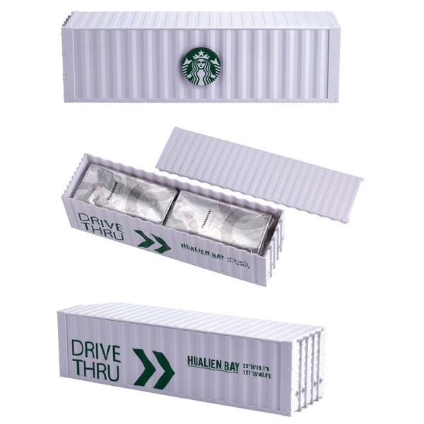 星巴克咖啡捲心酥洄瀾貨櫃禮盒