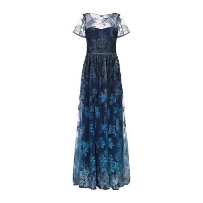 マルケッサ・ノッテ MARCHESA NOTTE ロングワンピース&ドレス ダークブルー 4 ナイロン 100% ロングワンピース&ドレス