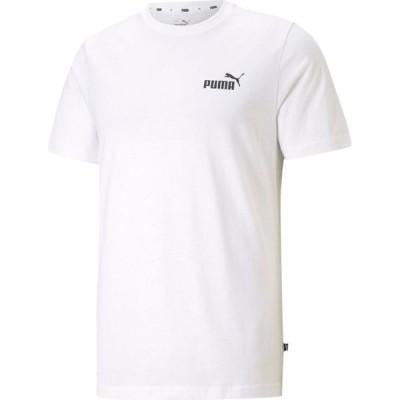 プーマ Puma メンズ Tシャツ ロゴTシャツ トップス Small Logo Tee White