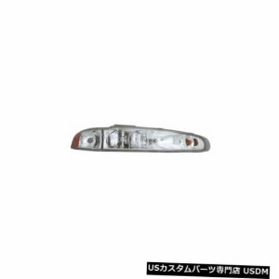 98-02 Oldsmobile Intrigue Headlight Assembly助手席側
