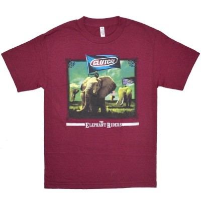 CLUTCH The Elephant Riders Tシャツ