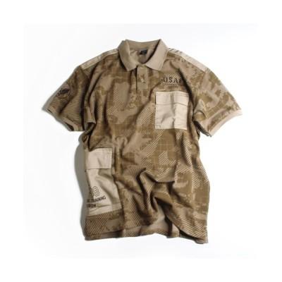 AVIREX / ルーズフィット カスタム ポロシャツ / SS LOOSE FIT CUSTOM POLO SHIRT / アヴィレックス / AVIREX MEN トップス > ポロシャツ