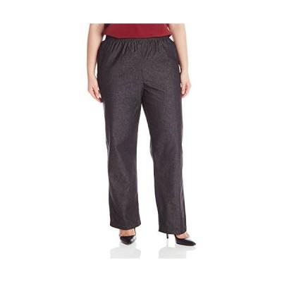海外より出荷【並行輸入品】アルフレッド・DunnerレディースクラシックMissy Proportioned Medium Pant カラー: ブラッ