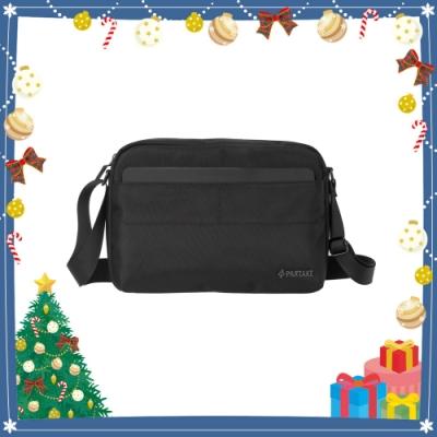 【PARTAKE】C6-橫式側背包-黑色 PT17-C6-65BK