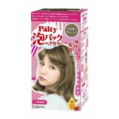 【医薬部外品】ダリヤ パルティ 泡パックヘアカラー ミルキーグレージュ ( 1セット ) <くるくる混ぜて手でぬるだけ、楽しく簡単なヘアカラー>