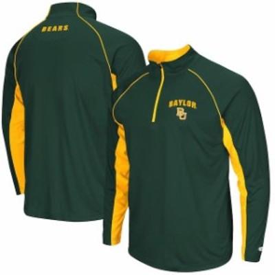 Colosseum コロセウム スポーツ用品  Colosseum Baylor Bears Green Lineman 1/4 Zip Jacket