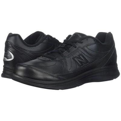 ニューバランス MW577 メンズ スニーカー 靴 シューズ Black/Black