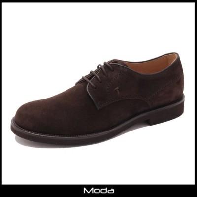 トッズ ダービー メンズ TOD'S 靴 ブラウン スウェード