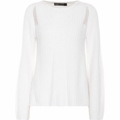 ヴィンス Vince レディース ニット・セーター トップス Cashmere sweater White