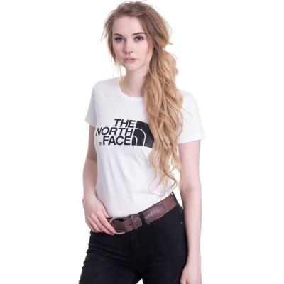 ザ ノースフェイス The North Face レディース Tシャツ トップス - S/S Easy - EU TNF White/TNF White - T-Shirt white