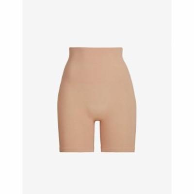 スキムズ SKIMS レディース インナー・下着 Core Control high-rise stretch-woven shorts OCHRE