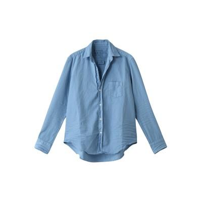 Frank&Eileen フランク&アイリーン EILEEN イタリアンカラーデニム カラーシャツ レディース ブルー XXS