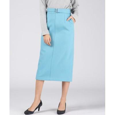 VICKY/ビッキー 【BOUFUH】タイトストレートスカート ブルー XS