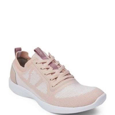 バイオニック レディース スニーカー シューズ Lenora Mesh & Fabric Lace Sneakers Blush