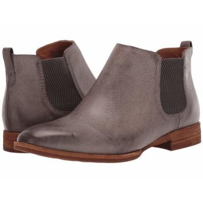 コークイース ブーツ&レインブーツ シューズ レディース Kama Grey Full Grain Leather
