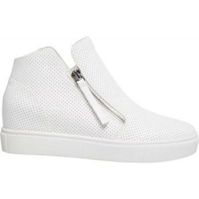 スティーブ マデン Steve Madden レディース スニーカー シューズ・靴 Caliber Sneaker White Synthetic