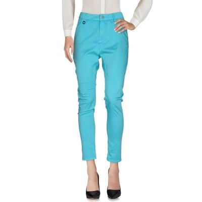 マニラ グレース MANILA GRACE パンツ ターコイズブルー 40 コットン 93% / ポリウレタン 7% パンツ