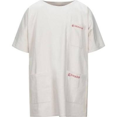 ラフ シモンズ RAF SIMONS メンズ シャツ トップス Solid Color Shirt Ivory