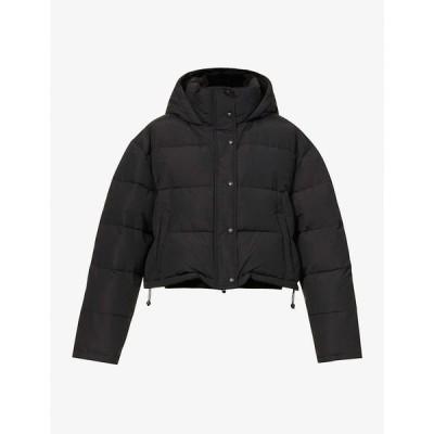 ワードローブ ニューヨーク WARDROBE.NYC レディース ダウン・中綿ジャケット アウター Padded cotton-blend puffer jacket MATTE BLACK