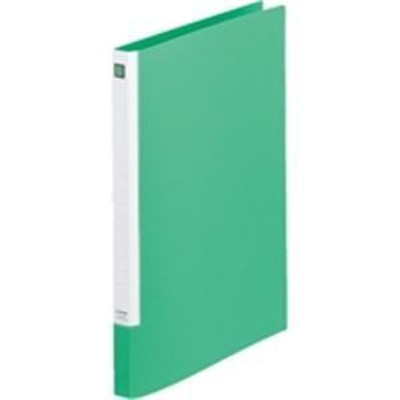 ds-1461723 (まとめ)キングジム レターファイル スライドイン 397N A4S 緑【×20セット】 (ds1461723)