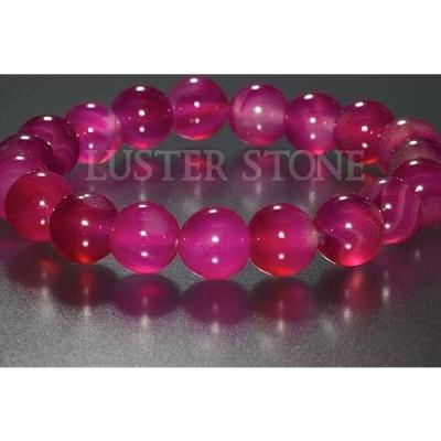 ピンクアゲート 10mm ブレスレット パワーストーン 天然石 メール便可200円
