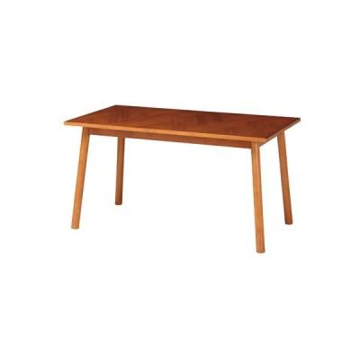 ダイニングテーブル 幅1300×奥行700×高さ680mm 食卓 木製テーブル 天然木テーブル ヘント テーブル 飲食店 家庭用 ダイニングスペース HENT-DT130
